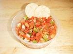 Lorna's tasty salsa!
